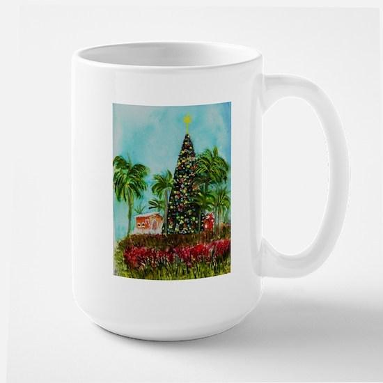 100 ft Christmas Tree Large Mug