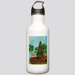 100 ft Christmas Tree Stainless Water Bottle 1.0L