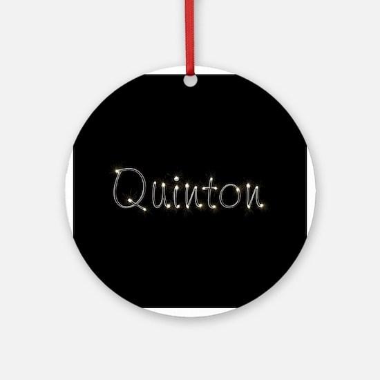Quinton Spark Ornament (Round)
