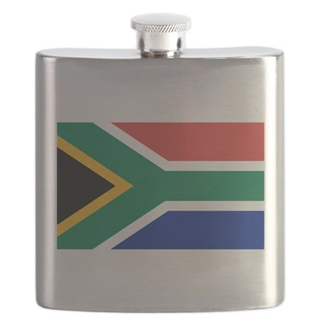 Flag of South Africa Flask