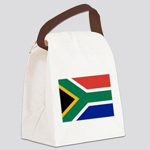 Flag of South Africa Canvas Lunch Bag