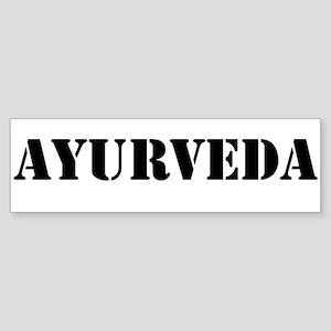 Ayurveda Sticker (Bumper)