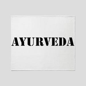 Ayurveda Throw Blanket