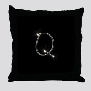 Q Spark Throw Pillow