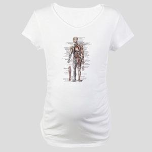 Anatomy of the Human Body Maternity T-Shirt