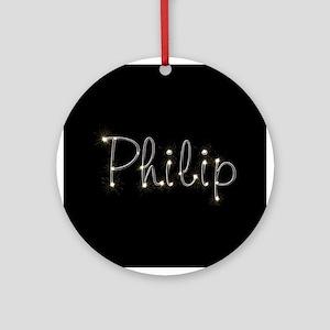 Philip Spark Ornament (Round)