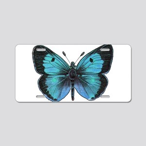 Ulysses Butterfly Aluminum License Plate