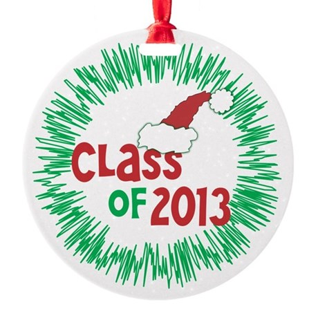 Class of 2013 Christmas Round Ornament