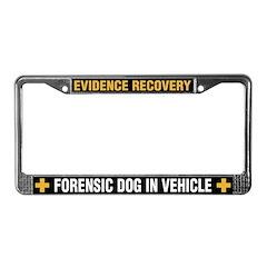 K-9 Forensics Licence Plate Frame