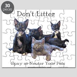 Dont Litter Puzzle