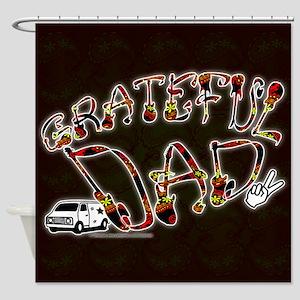 Grateful Dad - Shower Curtain