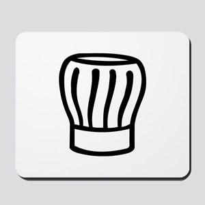 Cooking chefs hat Mousepad