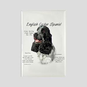 English Cocker (parti) Rectangle Magnet
