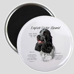 English Cocker (parti) Magnet