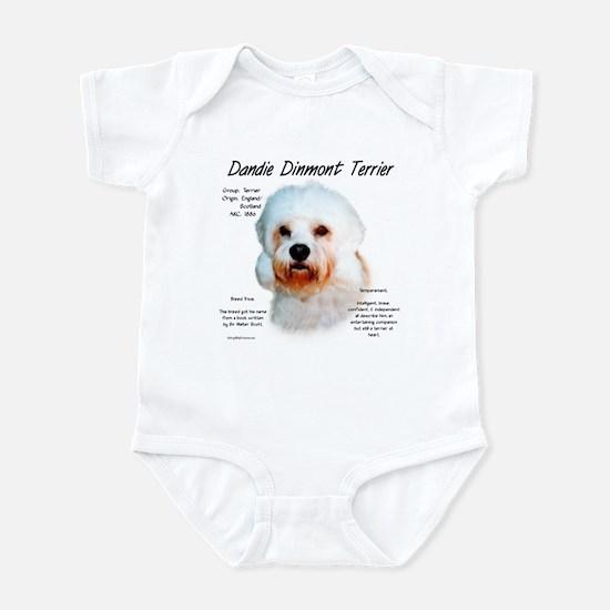 Dandie Dinmont Baby Light Bodysuit