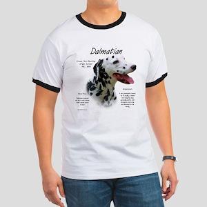 Dalmatian (black spots) Ringer T