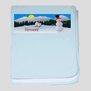 Winter Wonderland - Vermont baby blanket
