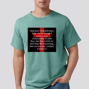 2 John 1-5 Mens Comfort Colors Shirt