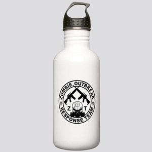 Zombie Tactical T-Shirt Stainless Water Bottle 1.0