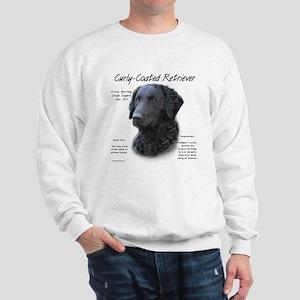 Curly-Coated Retriever Sweatshirt