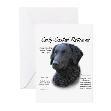 Curly-Coated Retriever Greeting Cards (Pk of 10)