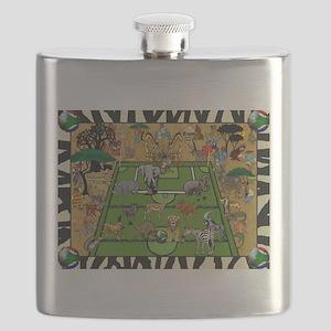 Soccer Safari Flask