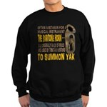 Summon Yak Sweatshirt (dark)