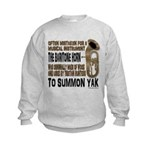 Summon Yak Kids Sweatshirt