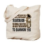 Summon Yak Tote Bag