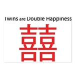 Twins are Double Happiness Postcards (Package of 8