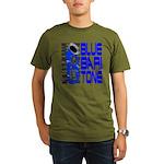 Blue Baritone Organic Men's T-Shirt (dark)