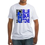 Blue Baritone Fitted T-Shirt