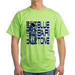 Blue Baritone Green T-Shirt
