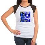 Blue Baritone Women's Cap Sleeve T-Shirt