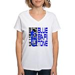 Blue Baritone Women's V-Neck T-Shirt