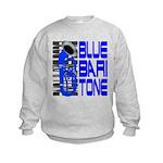Blue Baritone Kids Sweatshirt
