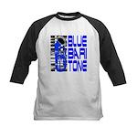 Blue Baritone Kids Baseball Jersey