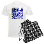 Blue Baritone Men's Light Pajamas