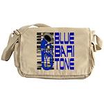 Blue Baritone Messenger Bag
