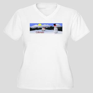 Winter Wonderland - Colorado Women's Plus Size V-N