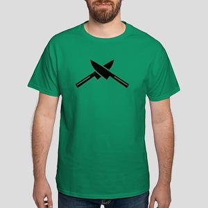 Crossed knives Dark T-Shirt