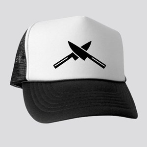 Crossed knives Trucker Hat