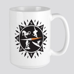 Adventure Compass Large Mug
