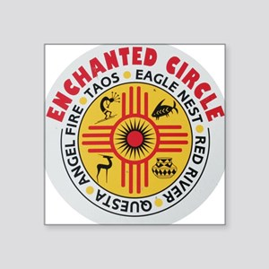 New Mexico's Enchanted Circle Rectangle Sticker