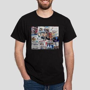 Obama Nominated: Newspaper Dark T-Shirt