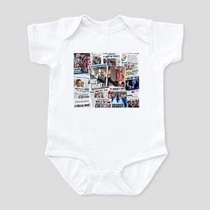 Obama Nominated: Newspaper Infant Bodysuit