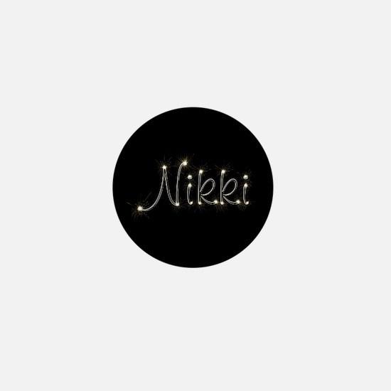 Nikki Spark Mini Button