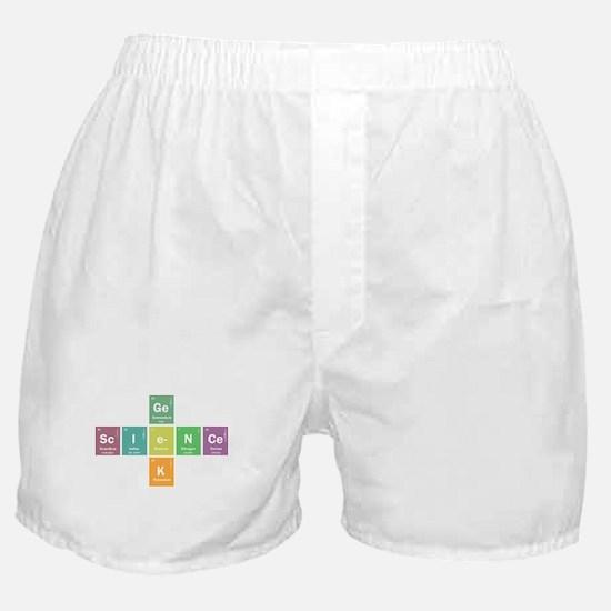 Geek science Boxer Shorts