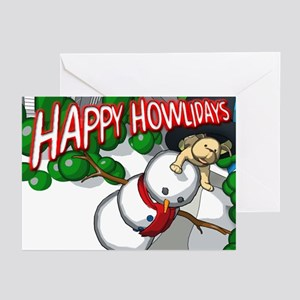"""""""Howliday"""" Greeting Cards (Pk of 10)"""
