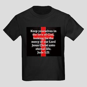 Jude 1-21 Kids Dark T-Shirt